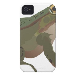 Cartoon Green Frog iPhone 4 Covers