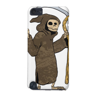 cartoon grim reaper. iPod touch 5G cover