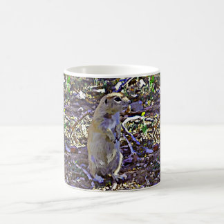 Cartoon Ground Squirrel Coffee Cup/Mug Coffee Mug