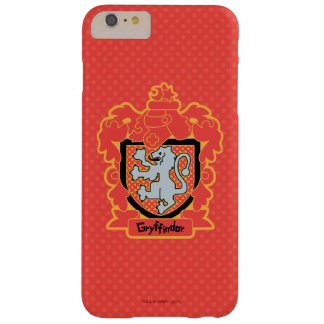 Cartoon Gryffindor Crest Barely There iPhone 6 Plus Case