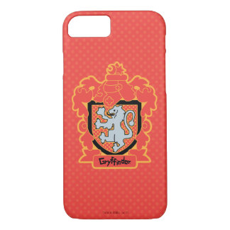 Cartoon Gryffindor Crest iPhone 8/7 Case