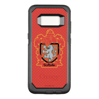 Cartoon Gryffindor Crest OtterBox Commuter Samsung Galaxy S8 Case