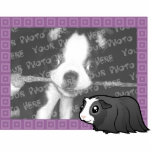 Cartoon Guinea Pig Photo Frame (long hair) Photo Sculpture Magnet