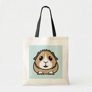 Cartoon Guinea Pig Shopping Bag