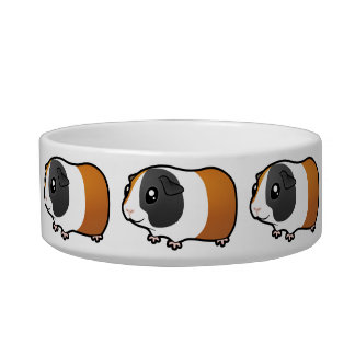 Cartoon Guinea Pig (smooth hair) Bowl