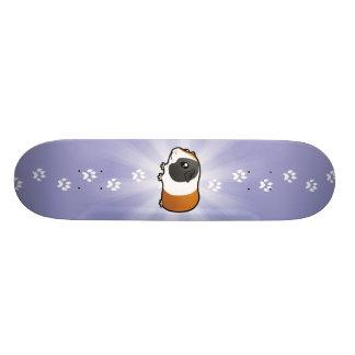 Cartoon Guinea Pig (smooth hair) Skate Boards