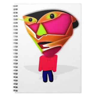 Cartoon Guy Notebooks