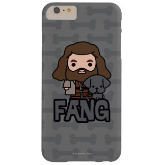 Cartoon Hagrid and Fang Character Art Barely There iPhone 6 Plus Case