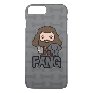 Cartoon Hagrid and Fang Character Art iPhone 8 Plus/7 Plus Case