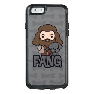 Cartoon Hagrid and Fang Character Art OtterBox iPhone 6/6s Case