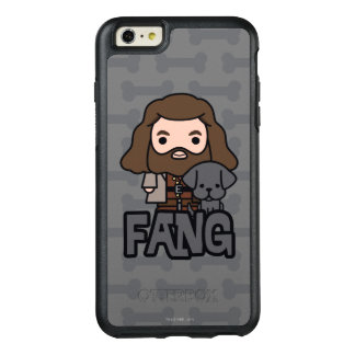 Cartoon Hagrid and Fang Character Art OtterBox iPhone 6/6s Plus Case