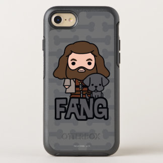 Cartoon Hagrid and Fang Character Art OtterBox Symmetry iPhone 8/7 Case