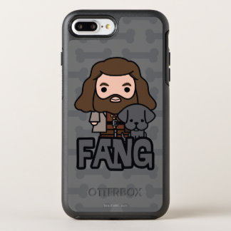 Cartoon Hagrid and Fang Character Art OtterBox Symmetry iPhone 8 Plus/7 Plus Case