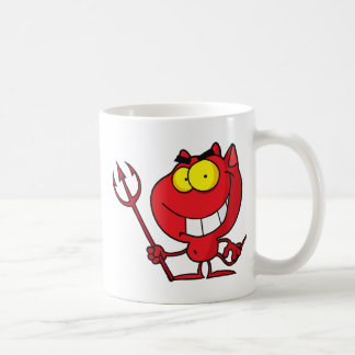 Cartoon Halloween Devil Mugs