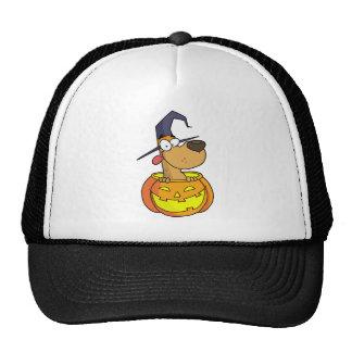 Cartoon Halloween Dog Mesh Hats