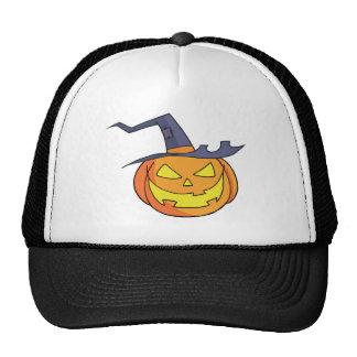 Cartoon Halloween Pumpkin Mesh Hat