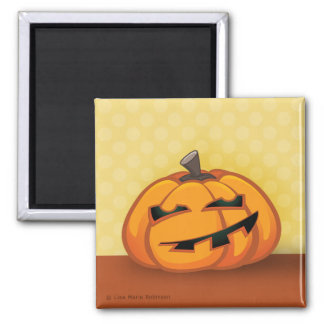 Cartoon Halloween Pumpkin Magnet