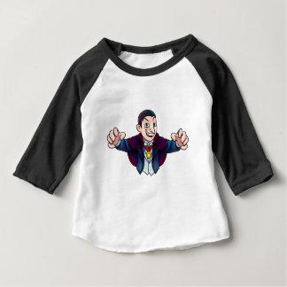 Cartoon Halloween Vampire Baby T-Shirt