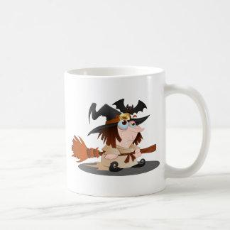 Cartoon Halloween Witch Mug