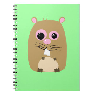Cartoon Hamster Notebook