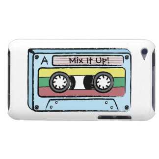 Cartoon Hand Drawn Cassette Tape (Mix It Up) iPod Touch Covers