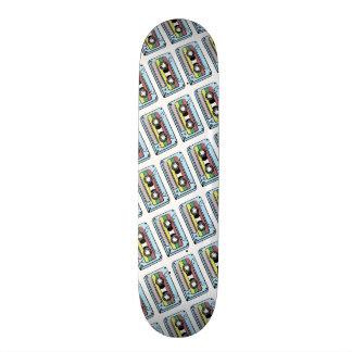 Cartoon Hand Drawn Cassette Tape Skate Boards