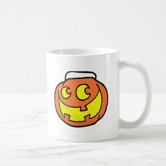 Cartoon Happy Halloween Pumkin Mug