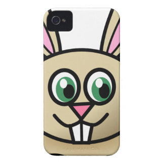 Cartoon Happy Rabbit iPhone 4 Case