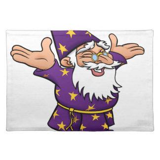 Cartoon Happy Wizard Placemat