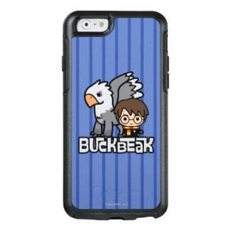 Cartoon Harry Potter and Buckbeak OtterBox iPhone 6/6s Case
