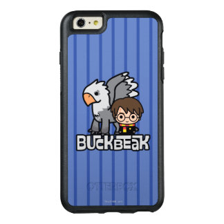 Cartoon Harry Potter and Buckbeak OtterBox iPhone 6/6s Plus Case