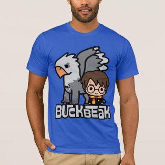Cartoon Harry Potter and Buckbeak T-Shirt