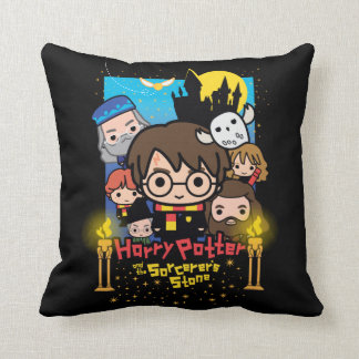 Cartoon Harry Potter and the Sorcerer's Stone Cushion