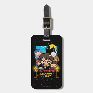Cartoon Harry Potter and the Sorcerer's Stone Luggage Tag