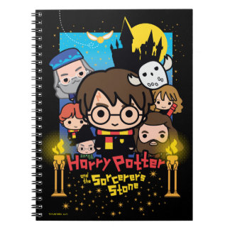 Cartoon Harry Potter and the Sorcerer's Stone Notebook