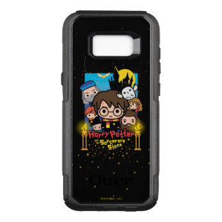 Cartoon Harry Potter and the Sorcerer's Stone OtterBox Commuter Samsung Galaxy S8+ Case