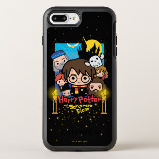 Cartoon Harry Potter and the Sorcerer's Stone OtterBox Symmetry iPhone 8 Plus/7 Plus Case