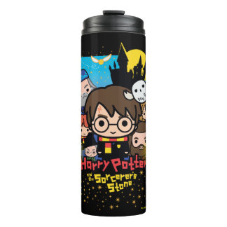 Cartoon Harry Potter and the Sorcerer's Stone Thermal Tumbler