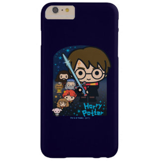 Cartoon Harry Potter Chamber of Secrets Graphic Barely There iPhone 6 Plus Case