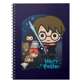 Cartoon Harry Potter Chamber of Secrets Graphic Notebook