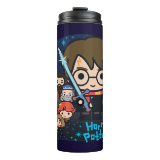 Cartoon Harry Potter Chamber of Secrets Graphic Thermal Tumbler