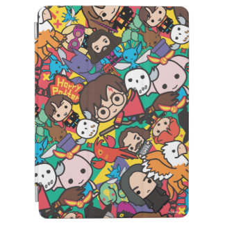 Cartoon Harry Potter Character Toss Pattern iPad Air Cover