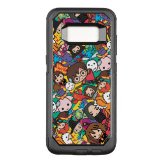 Cartoon Harry Potter Character Toss Pattern OtterBox Commuter Samsung Galaxy S8 Case