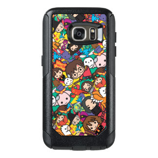 Cartoon Harry Potter Character Toss Pattern OtterBox Samsung Galaxy S7 Case