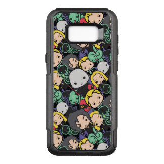 Cartoon Harry Potter Death Eaters Toss Pattern OtterBox Commuter Samsung Galaxy S8+ Case