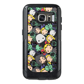 Cartoon Harry Potter Death Eaters Toss Pattern OtterBox Samsung Galaxy S7 Case