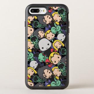Cartoon Harry Potter Death Eaters Toss Pattern OtterBox Symmetry iPhone 8 Plus/7 Plus Case