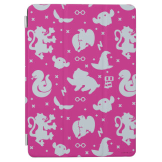 Cartoon Harry Potter Magic Icons Toss Pattern iPad Air Cover