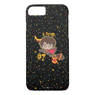 Cartoon Harry Potter Quidditch Seeker iPhone 8/7 Case