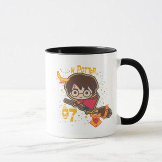 Cartoon Harry Potter Quidditch Seeker Mug